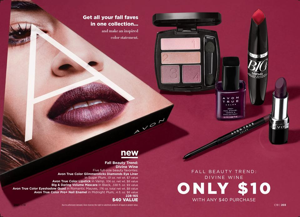 AVON A Box Divine Wine