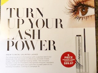 new avon products 2018 - lash serum