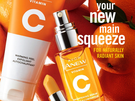 AVON Campaign 10 2019 Online Brochure/Catalog - NEW Vitamin C Skincare Products!