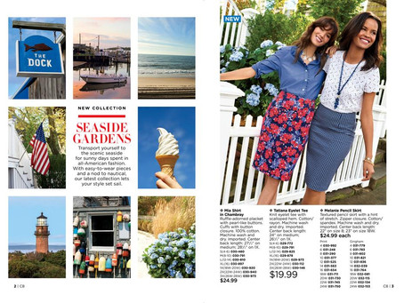 AVON Campaign 8 2018 Brochure/Catalog Online - What To Wear Now!