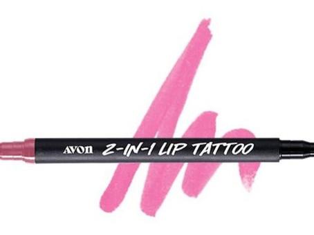 New! AVON 2-in-1 Lip Tattoo