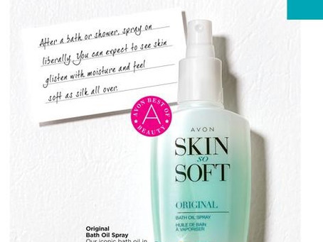 It's A Spring Thing: AVON Skin So Soft