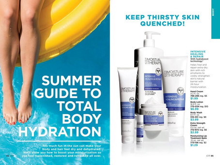 Summer Guide to Total Body Hydration