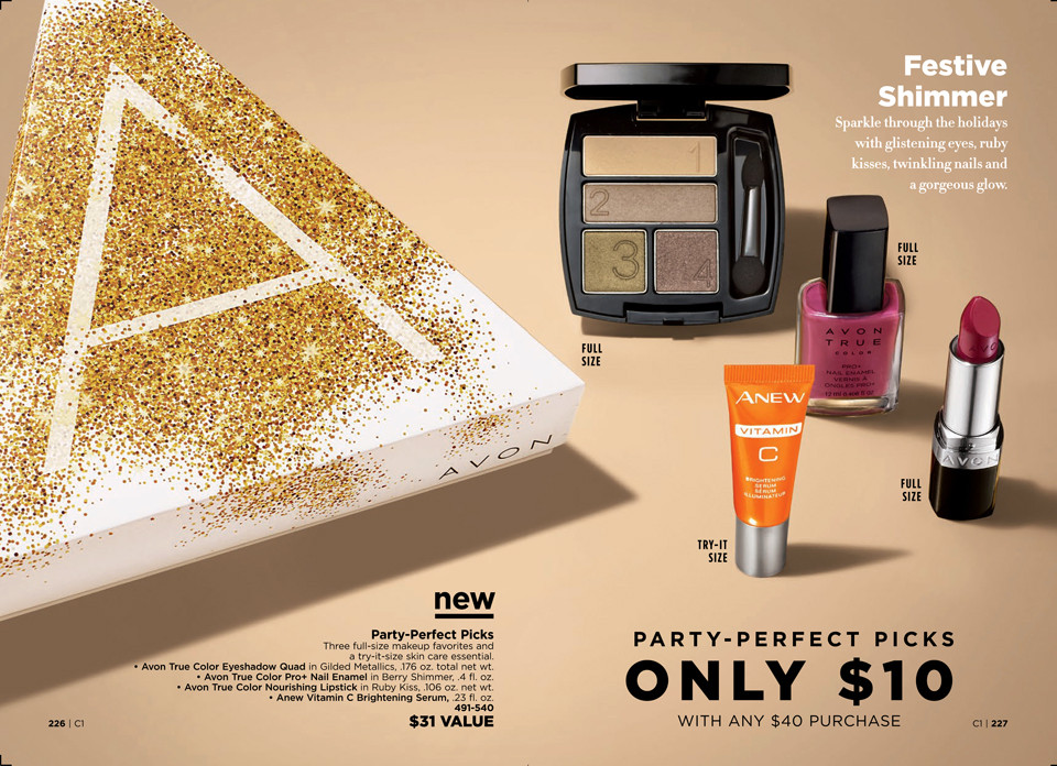 avon a box campaign 1 2019 Party Perfect Picks