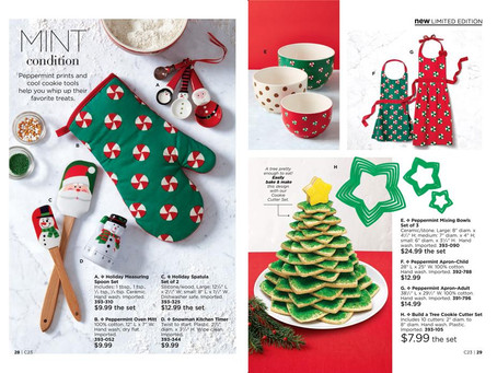 AVON Holiday 2018: Entertaining, Cooking and Baking!