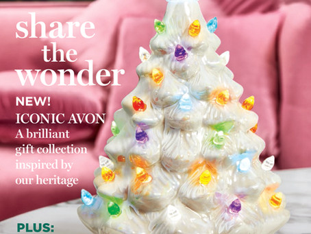 AVON Campaign 24 2019 Online Brochure/Catalog/Book - Share the Wonder! Iconic AVON Gift Collection