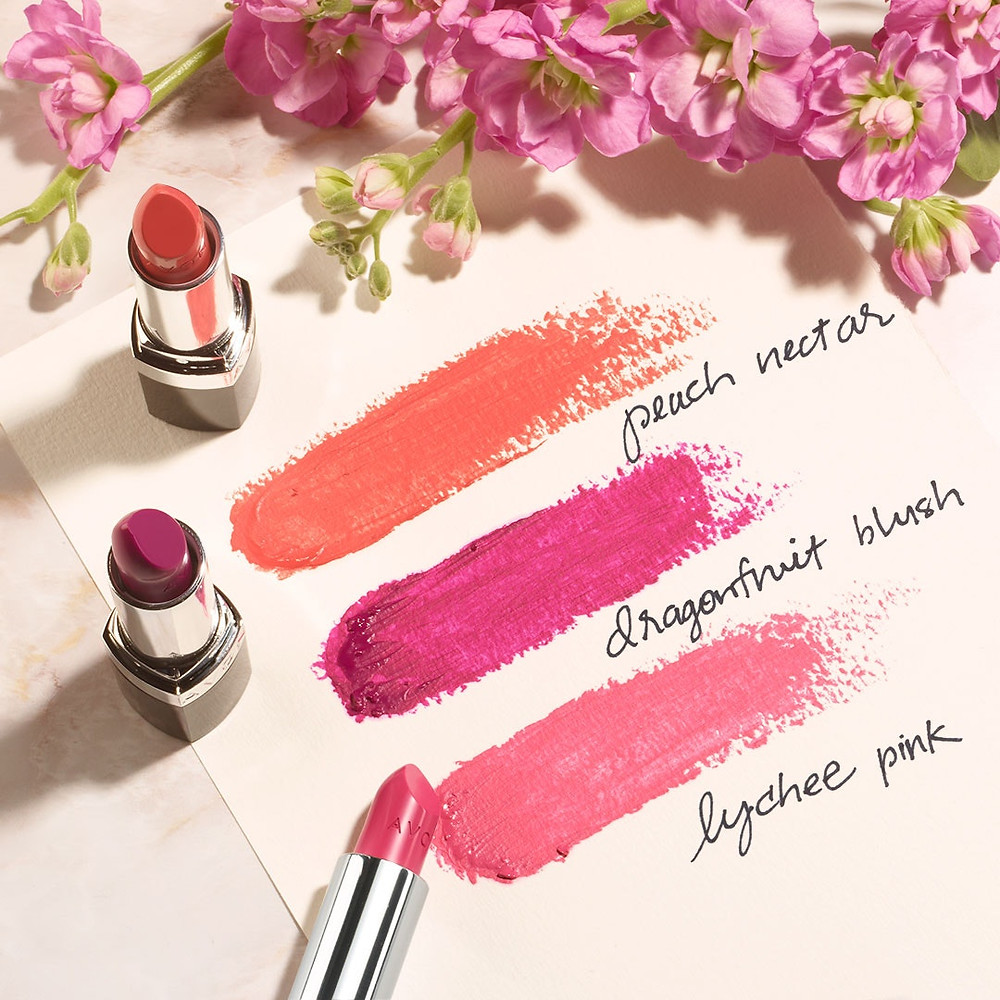 AVON True Color Nourishing Lipstick spring colors