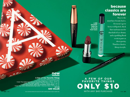 AVON A Box Campaign 26 2018 - A Few of Our Favorite Things