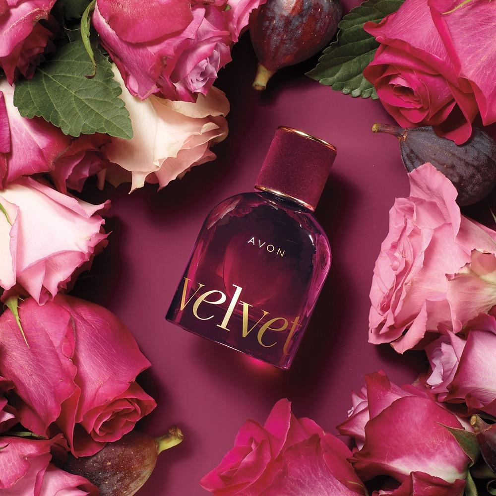 AVON Velvet fragrance - a new perfume for her