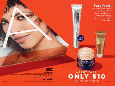 AVON A Box Campaign 21 2018 - About Face!