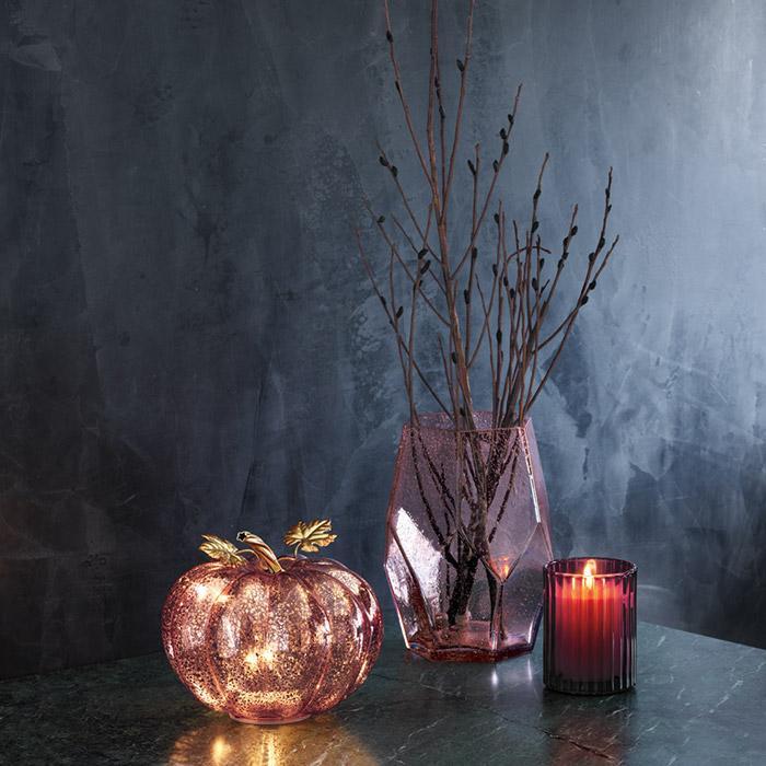 avon fall home decor 2018 - light up pumpkin