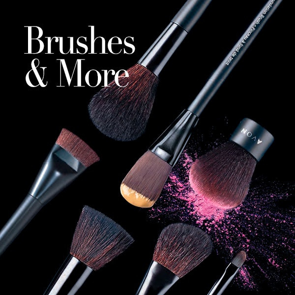 AVON makeup brush guide