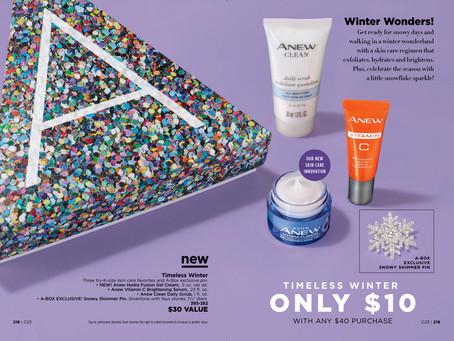 AVON A Box Campaign 23 2018 - Timeless Winter