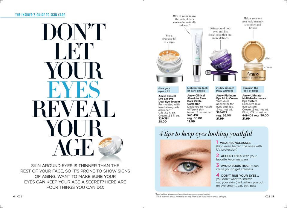 Don't let your eyes show your age - best eye creams
