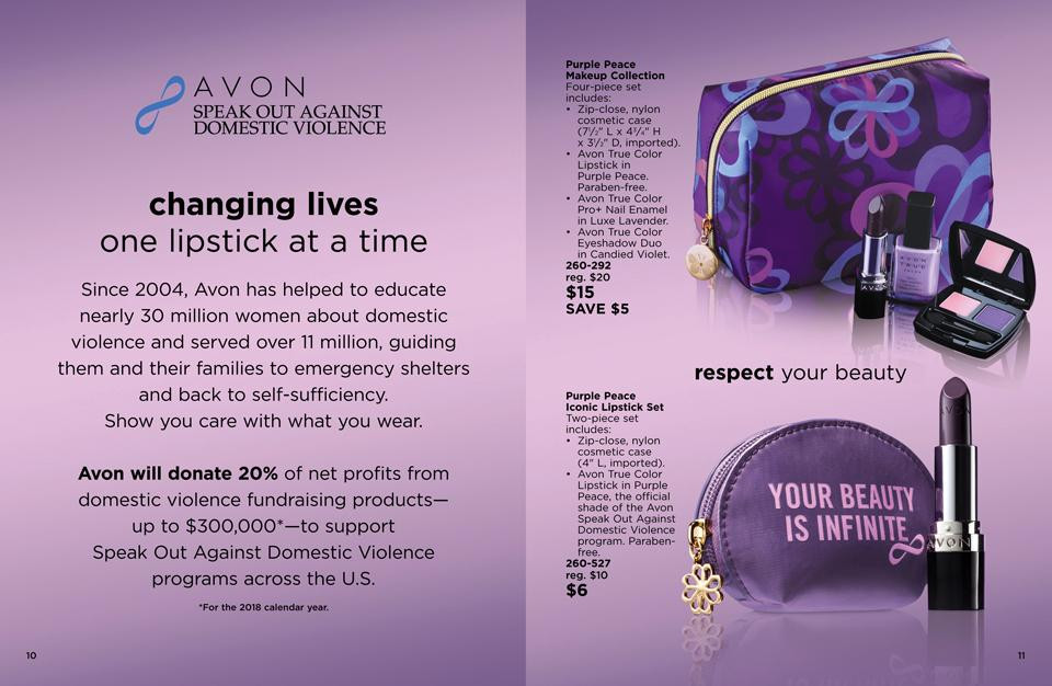 avon domestic violence products
