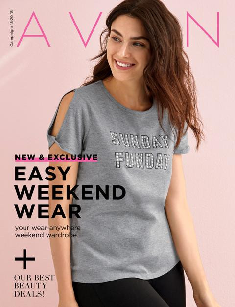 avon brochures catalog campaing 20 2018 weekend wear