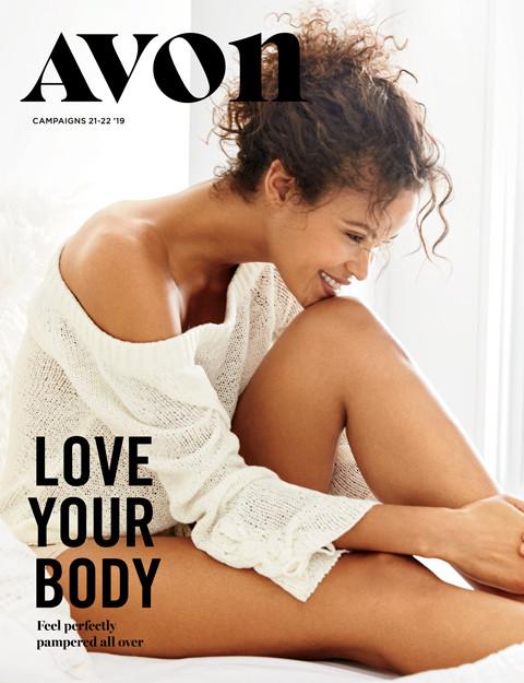 avon brochure campaign 21-22 2019 love your body