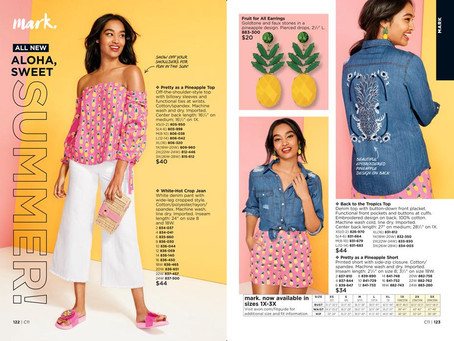 mark By AVON - New Pineapple Summer Fashion Collection 2018