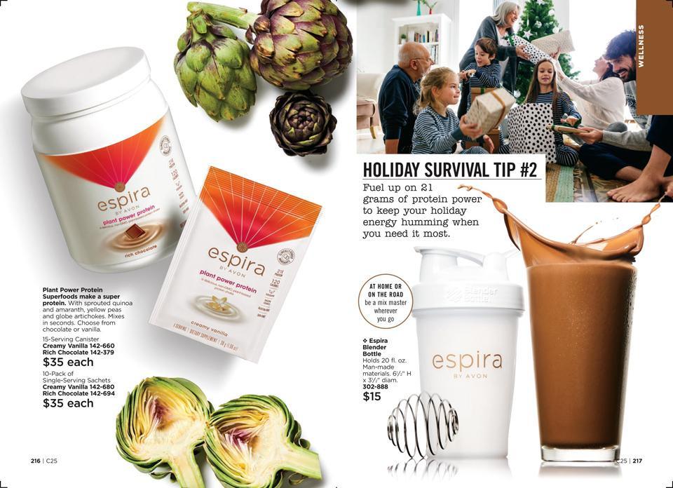 Holiday Eating Survival Guide AVON Espira Tip #2