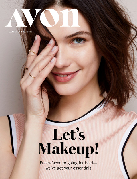 avon brochure campaign 17 2019 Let's Makeup!