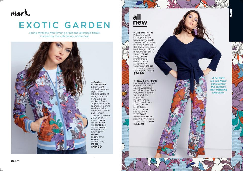 mark Exotic Garden fashion collection