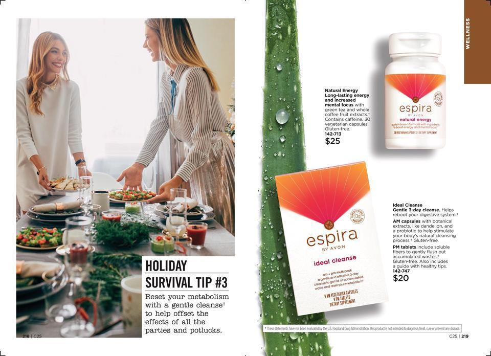 Holiday Eating Survival Guide AVON Espira Tip #3