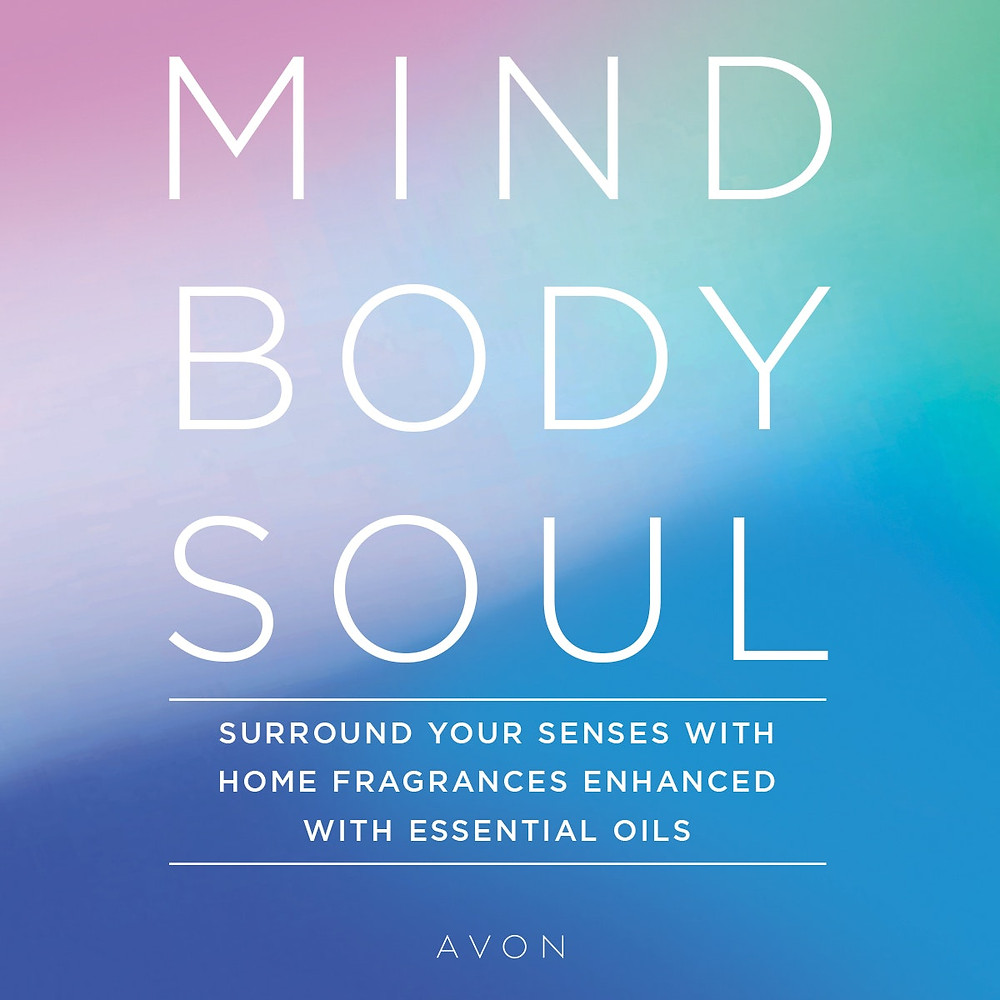 Avon scented candles - mind body soul with essential oils