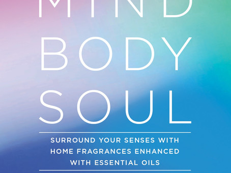 NEW! Mind Body Soul Candles with Essential Oils