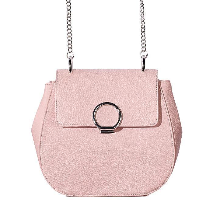 AVON Autumn Romance Pink Leather Bag - fall fashion 2018