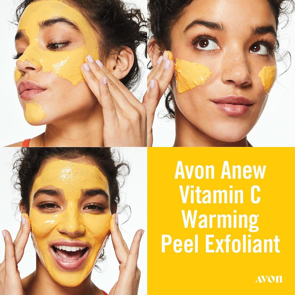 AVON Anew Vitamin C warming peel exfoliant