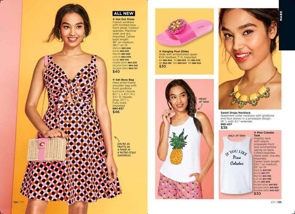 avon summer fashion 2018 pineapple