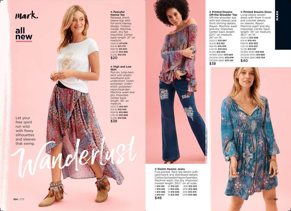 mark wanderlust summer fashion collection avon