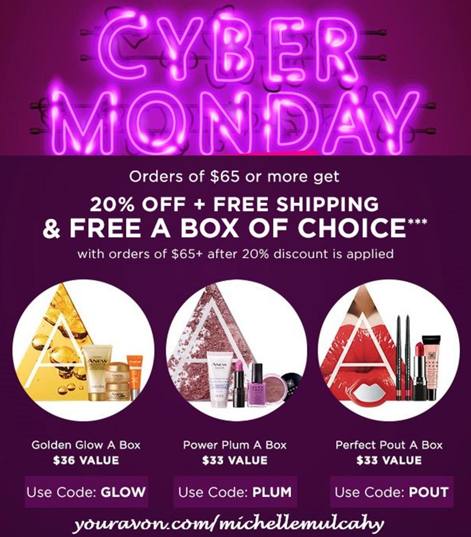 AVON Cyber Monday 2018