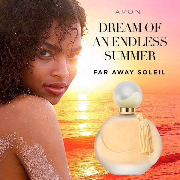 new avon fragrance Far Away Soleil