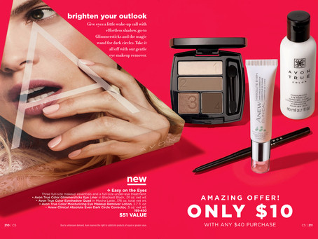 AVON A Box Campaign 5 2019 - Easy On The Eyes