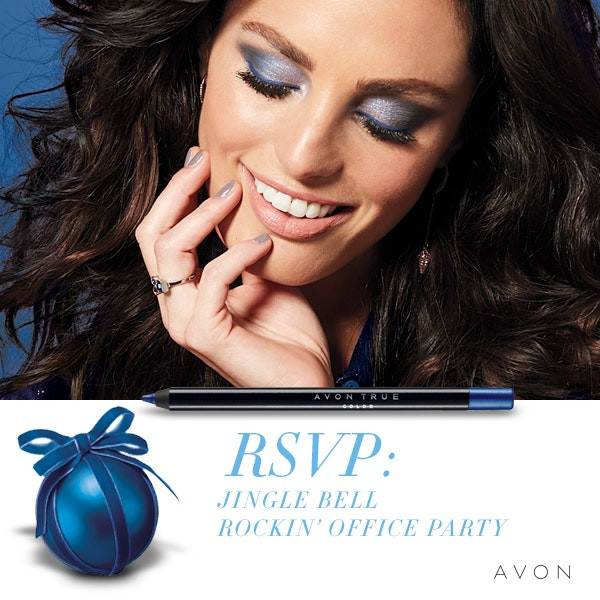Holiday Party Pretty Makeup Looks by AVON Look #2 Office Party