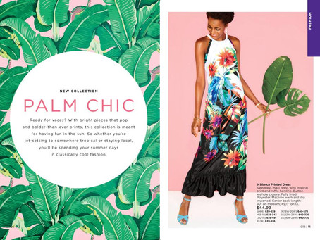 NEW! Palm Chic Collection by AVON