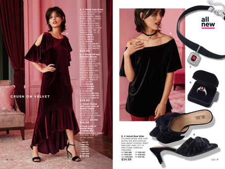 New AVON Fashion Collection! Crush on Velvet!