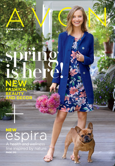 modern southern belle fashion for spring 2018 - Avon campaign 4 2018