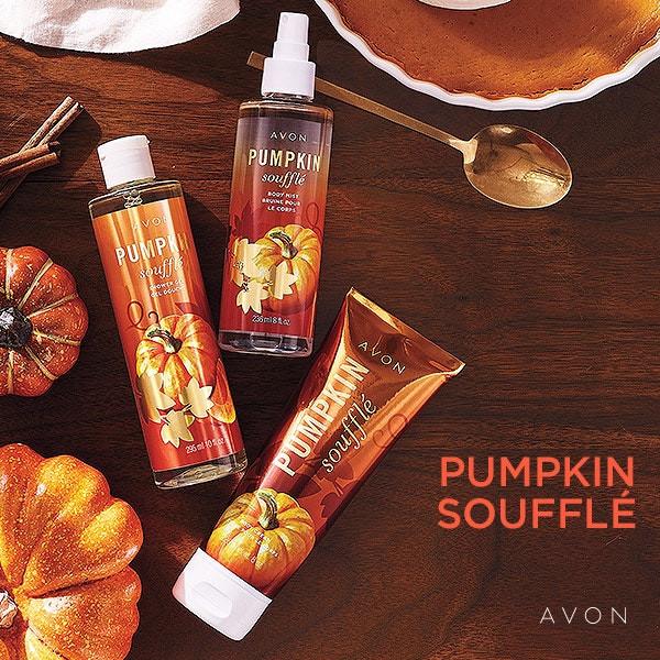 avon bath and body - pumpkin souffle