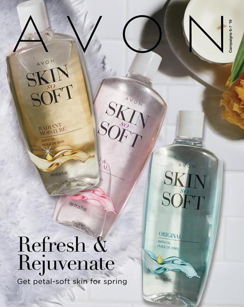 avon campaign 6-7 2019 online brochure/catalog Refresh & Rejuvenate