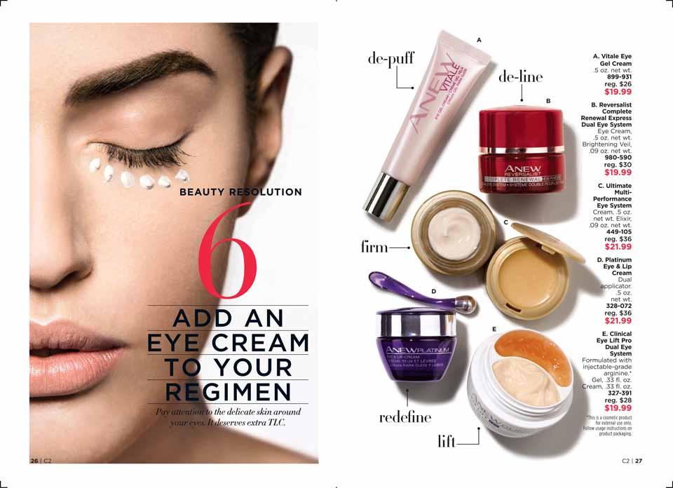 Avon beauty resolutions 2018