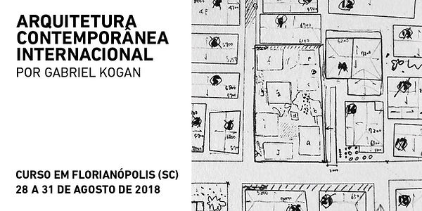 Gabriel Kogan arquitetura contemporânea internacional