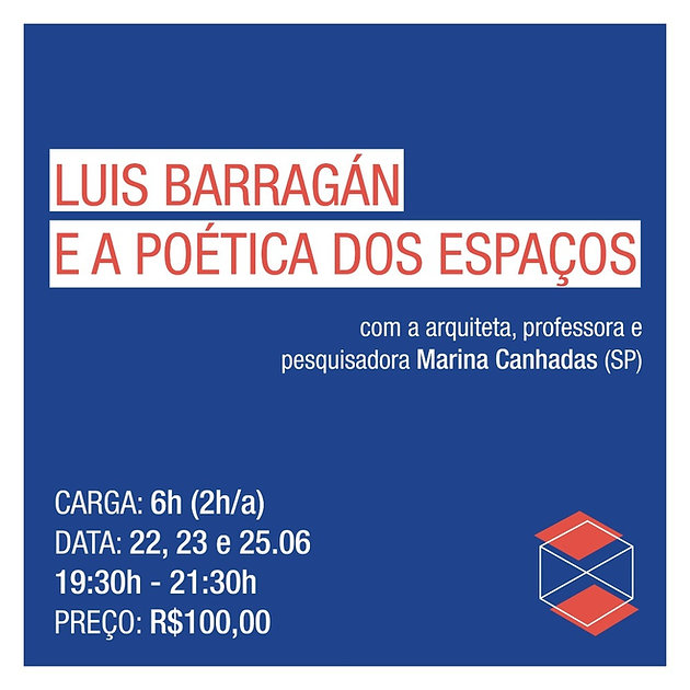 Luis Barragán Marina Canhadas Gabriel Villas Bloco B Luíza Coqueiro