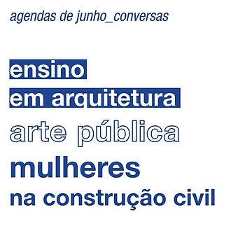 Bloco B ensino em arquitetura arte pública mulheres na construção civil