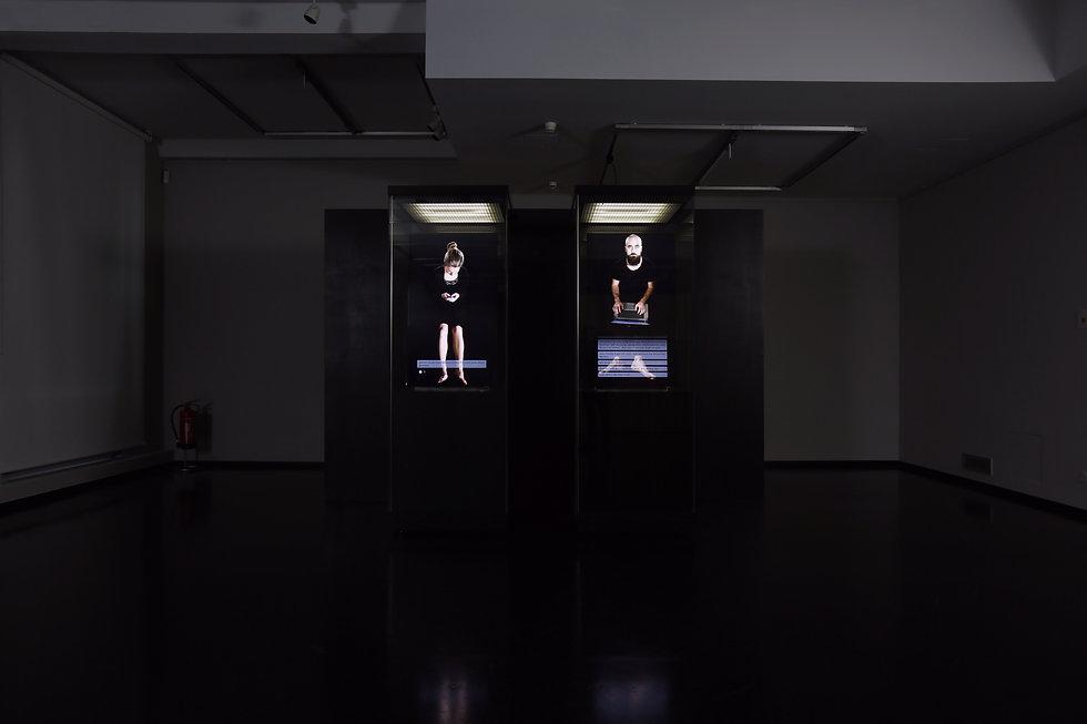 Nicola Piccini, Post Eremitism, Installation View, Grassi Museum Leipzig