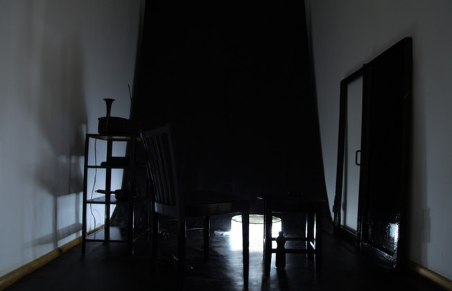 Nicola Piccini, Impulse Black, Installation, Cover Image