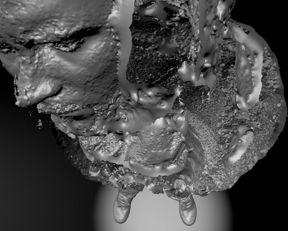 Nicola Piccini, My 4th Dimension, 3D Model Two