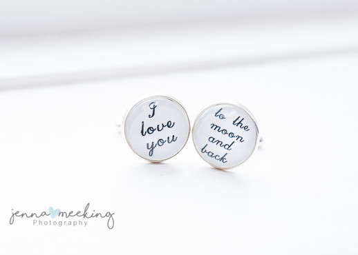 Grooms cuff links Yorkshire