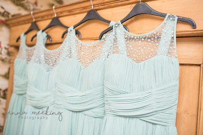 Bridesmaids dresses, Harome, North Yorkshire
